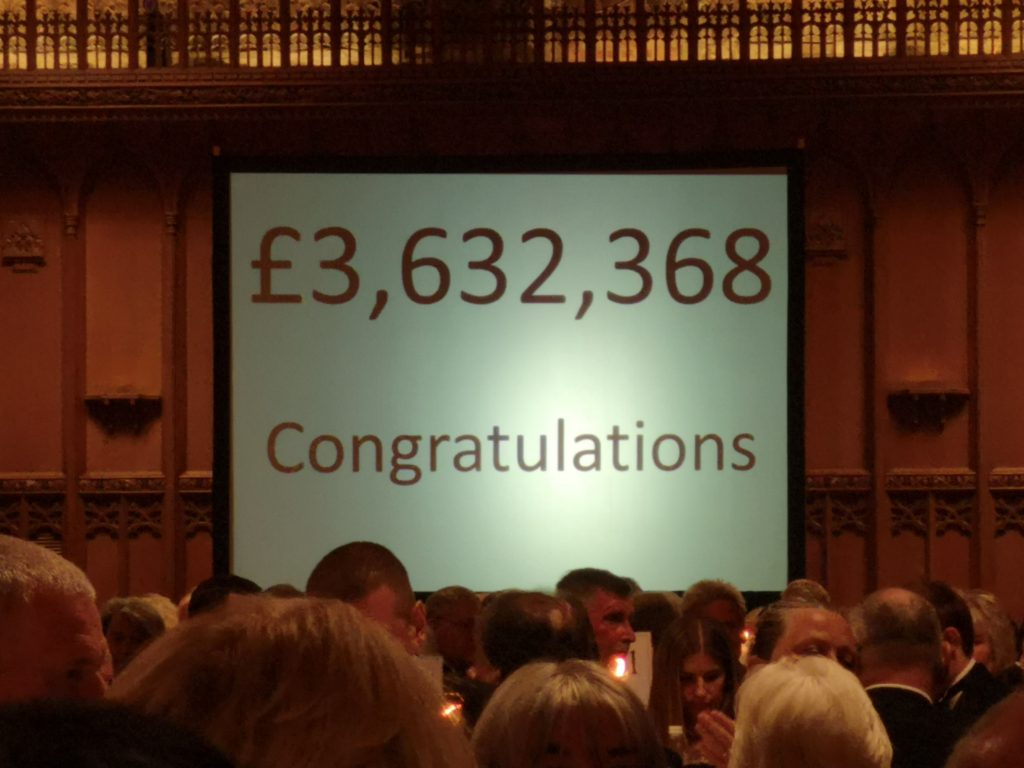 The 2019 Festival in aid of the Royal Masonic Trust for Girls and Boys raised an amazing £3,632,368!