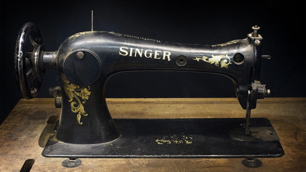 Your old sewing machine could be helping to relieve poverty in India
