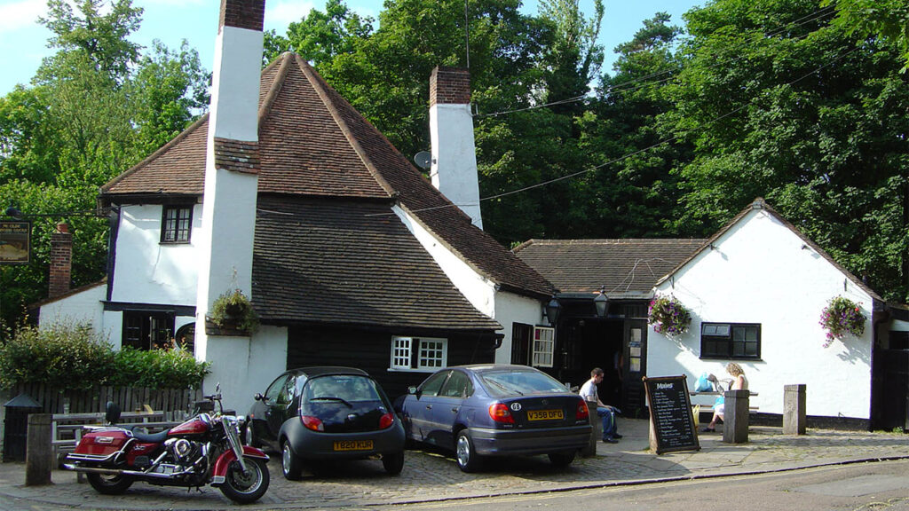 Ye Olde Fighting Cocks in St Albans claims to be the oldest pub in England