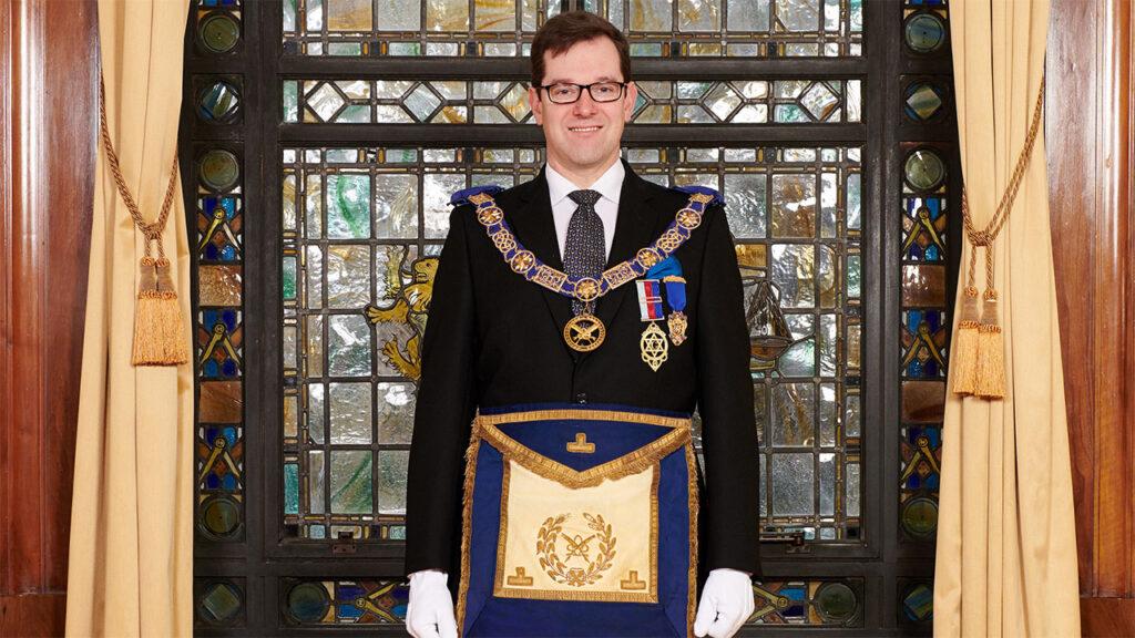 Grand Secretary, Dr David Staples