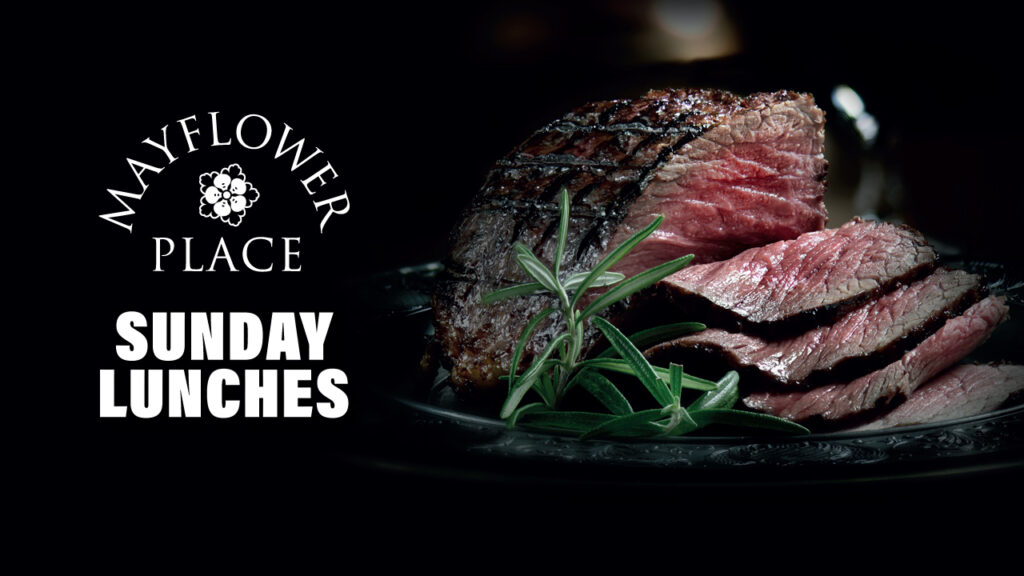 Mayflower Place will be serving Sunday lunches from 12 July